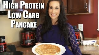 High Protein Low Carb MTS Pancake   Tiger Fitness