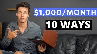10 Ways To Make $1,000 A Month In 2020