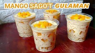 Mango Sagot Gulaman Recipe | How To Make Mango Sagot Gulaman