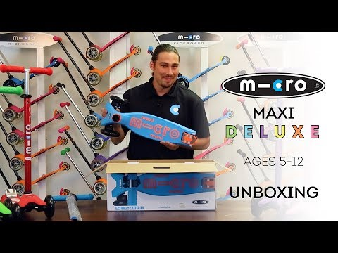 Micro Maxi Deluxe Scooter Unboxing | by Micro Kickboard