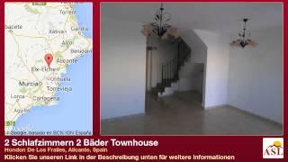 preview picture of video '2 Schlafzimmern 2 Bäder Townhouse zu verkaufen in Hondon De Los Frailes, Alicante, Spain'