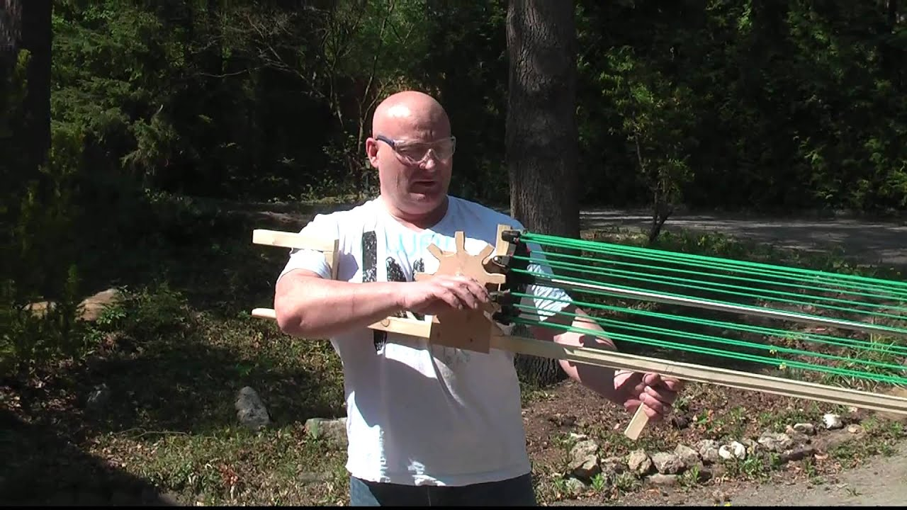 Gatling Slingshot Crossbow: You'll Shoot Everybody's Eyes Out