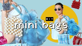 DIY MINI BAGS (so Cute And Tiny!) | WITHWENDY