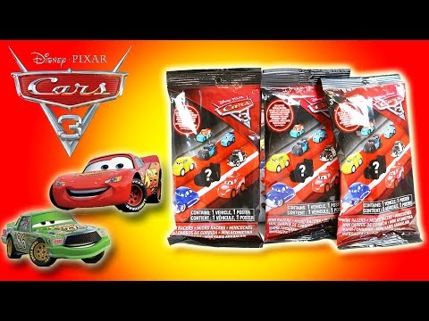 DISNEY PIXAR - CARS 3 MINI RACER - BLIND BAGS - FULL COLLECTION| Little Kelly & Friends ToysReview