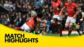 VIDEO Catch the highlights of yesterdays Premiership Rugby semifinal between Exeter Chiefs