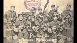 pickgards chinese syncopators - flower of the orient