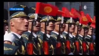 Праздничный парад к 25-летию независимости КР