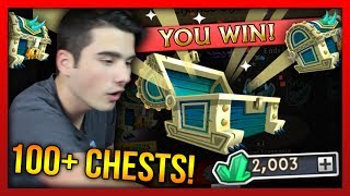 Knights and Dragons - EPIC 104 Titanic Chest Opening!! LIMITED EDITION Chests Opening Battle!