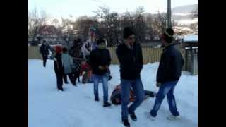 Jocul caprei din Calini, in satul Spria, 01 ianuarie 2013