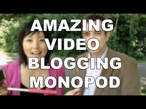 The video blogging monopod