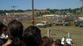 2012 Dickinson, ND Demolition Derby (Roughrider Days)-Chain & Bang Heat