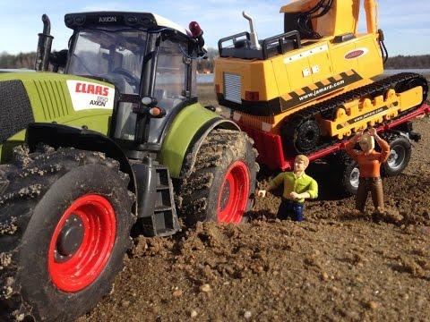 BRUDER TOYS RC Tractor Claas Axion 850