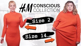Size 2 & Size 14 Try On The Same Outfits From H&Ms Sustainable Line
