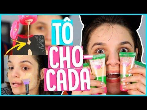 BASE VEGANA DE 10 REAIS   ME SURPREENDEU! (dalla makeup)