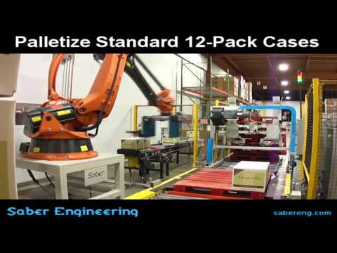 Saber RCP-120 Robot Palletizer