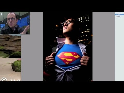 Opening the portrait archives #1 Superman