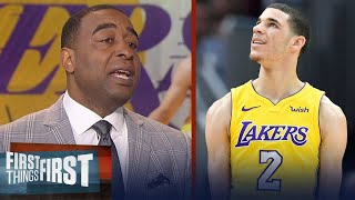 Cris Carter on Lonzo's return to Lakers, Warriors needing to be No. 1 seed | FIRST THINGS FIRST