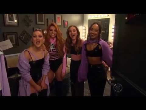 James Corden Introducing Little Mix On The Late Late Show 3/29/17