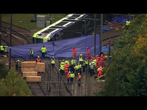 Βρετανία: Φονικός εκτροχιασμός συρμού του τραμ στο νότιο Λονδίνο