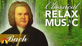 Classical Music for Relaxation, Music for Stress Relief, Relax Music, Bach, ♫E006