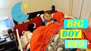 HOW I GOT MY 4 YEAR OLD TO SLEEP IN HIS OWN BED!