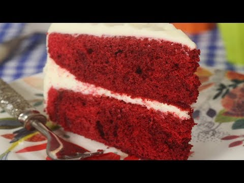 Red Velvet Cake Recipe Demonstration - Joyofbaking.com
