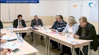 Андрей Никитин посетил строящийся психоневрологический интернат «Оксочи»