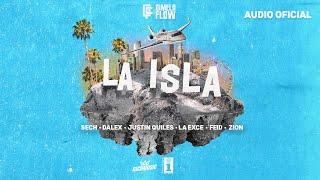 Dimelo Flow   La Isla Ft. Sech, Dalex, Justin Quiles, La Exce, Feid, Zion (Audio Oficial)