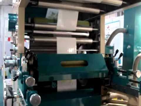 Flexographic Printing Machine - 4 Colors
