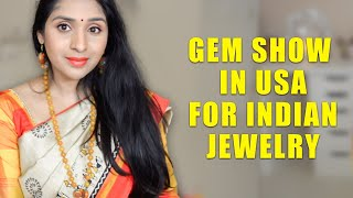 Gem Show In USA For Indian Jewelry | How To Shop, Tips & Jewelry Ideas With Beads | Deepikamakeup