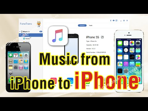 How to Transfer Music from old iPhone to new iPhone 7/6S/6S Plus Directly