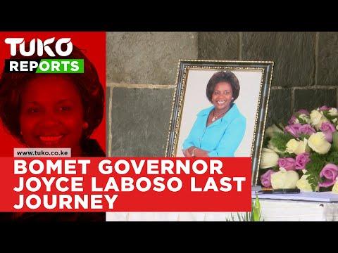 Bomet Governor Joyce Laboso last Journey | Tuko TV