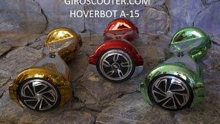 Видео обзор Hoverbot A-15 гироскутер мобильное приложение