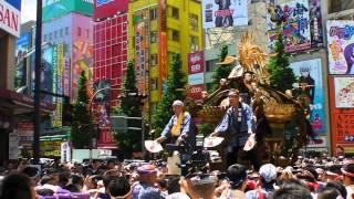 2013年 神田祭 神田市場千貫御輿   Kanda Fesitval, Sengan Mikoshi 2013