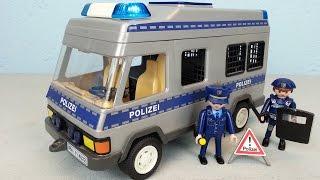 Playmobil Polizei Mannschaftswagen 4022 seratus1 unboxing