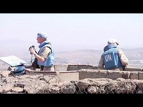 Syrie : affrontements à la frontière avec le plateau du Golan