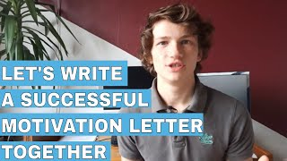 How to successfully write a motivation letter for PhD / Master | Guide to write a motivation letter