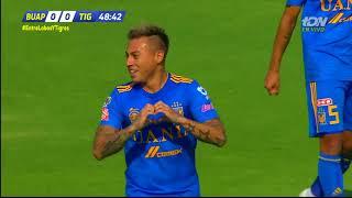 Resumen   Lobos BUAP 0 - 3 Tigres UANL   LIGA Bancomer MX - Clausura 2019  - Jornada 14