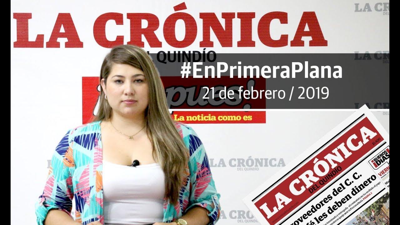 En Primera Plana: lo que será noticia este viernes 22 de febrero