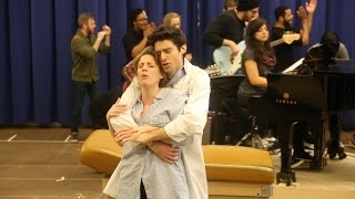 "Jessie Mueller and Drew Gehling Sing ""Bad Idea"" from Sara Bareilles' WAITRESS"