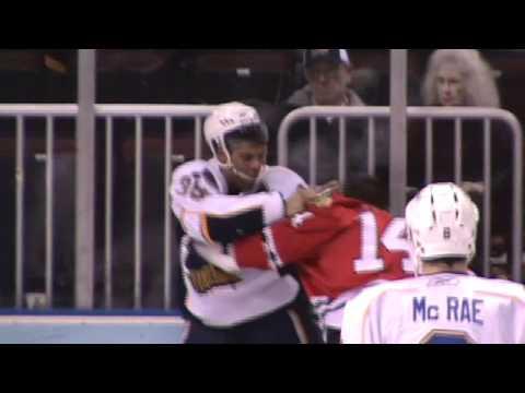 Ryan Reaves vs. Kyle Hagel