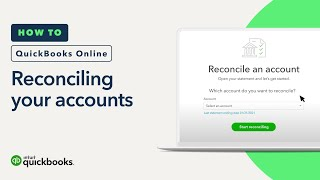 How to reconcile an account in QuickBooks Online