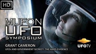 UFOs AND GOVERNMENT SECRECY: THE HARD EVIDENCE – Grant Cameron