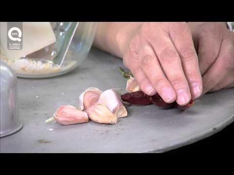 Trattamento da aglio e latte da helminth