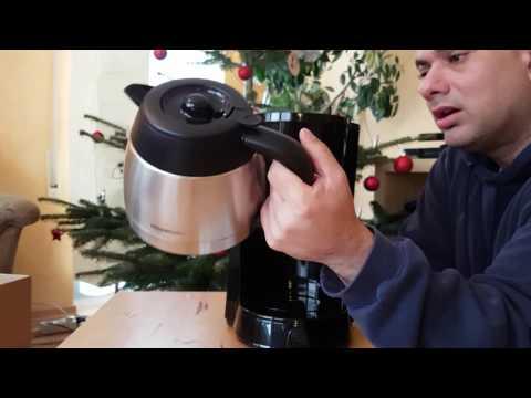 AmazonBasics Kaffeemaschine Unboxing Video