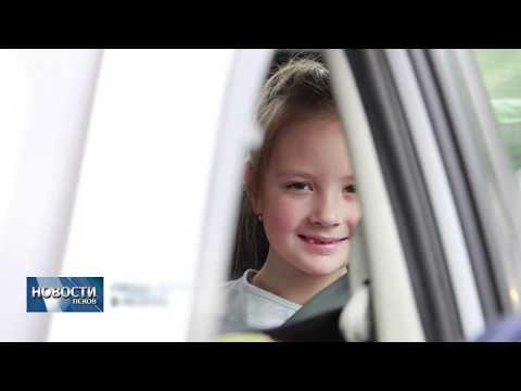 18.07.2019 / ГИБДД проверила безопасность детских перевозок в Пскове