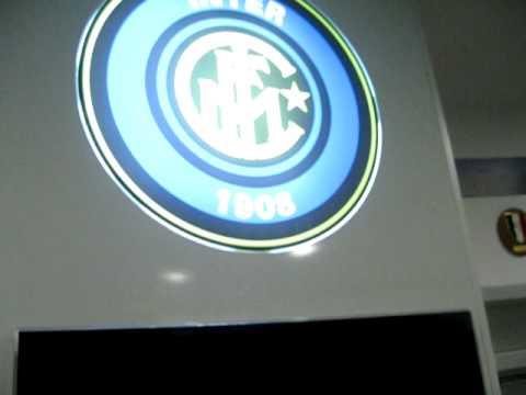 My trip to Milan-Tour of the San Siro(Inter dressing room)