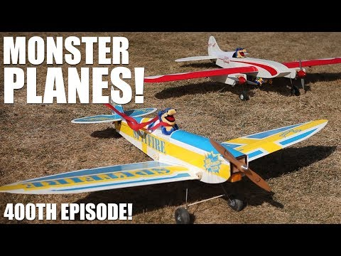 flite-test--monster-planes--400th-episode