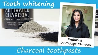Does charcoal toothpaste work for teeth whitening?