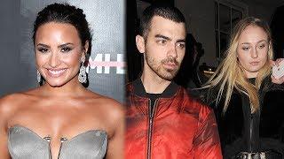 Demi Lovato REACTS To Joe Jonas' Engagement & Fans Freak Out